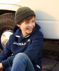 Summer and Christmas shoot with Jack & Jones Junior