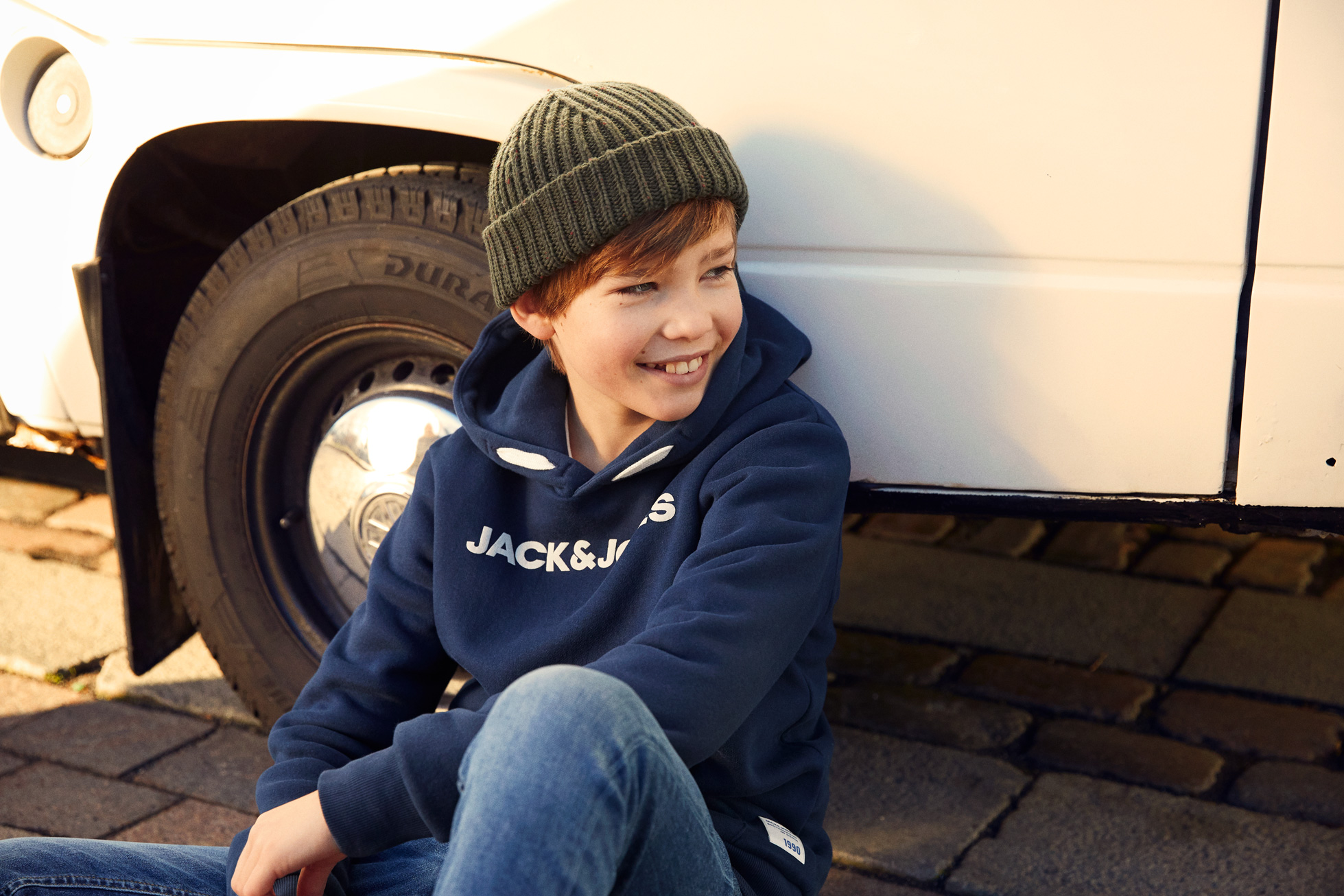 Read the news post: Summer and Christmas shoot with Jack & Jones Junior